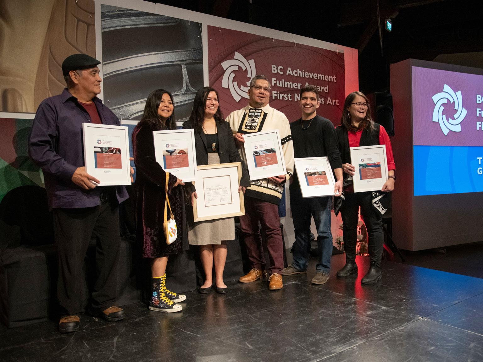 2019 Fulmer Award in First Nations Art Awardees Celebrated
