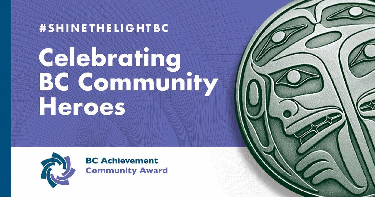 #shinethelightbc honouring the 2020 Community Awardees