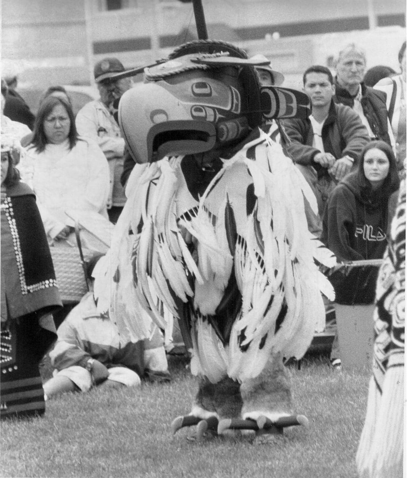 Thursday, Oct 15, 2009:  The British Columbia Aboriginal Achievement Award presented to Calvin Hunt by Premier Gordon Campbell. Photo by Kim Stallknecht