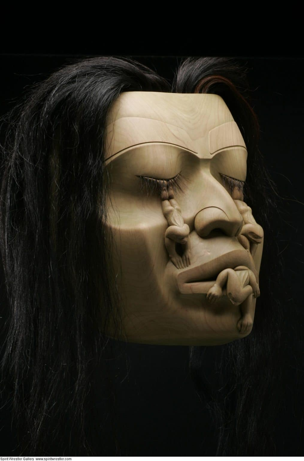 2012-FNA-norman-tait-Weeping Volcano Woman