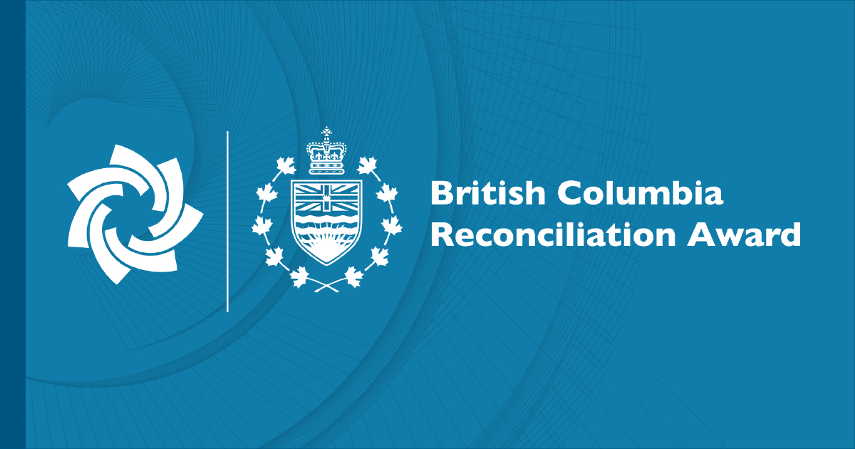 The Office of the Lieutenant Governor and the BC Achievement Foundation Announce Launch of Reconciliation Award