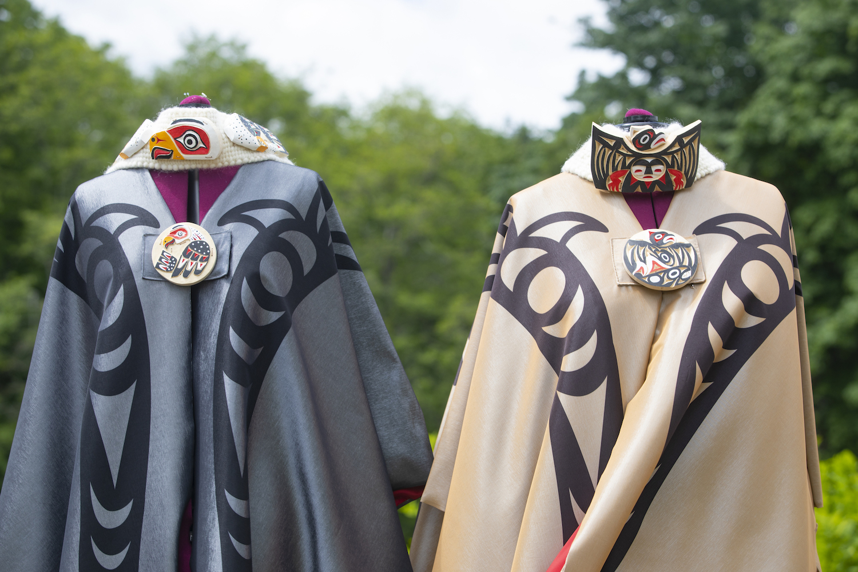Ay Lelum's regalia designs inspire at Chancellor Sayer's swearing in ceremony