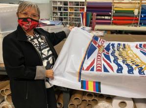 Lou-ann Neel flag